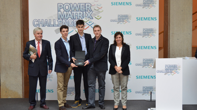 Premio Siemens Power matrix Challenge