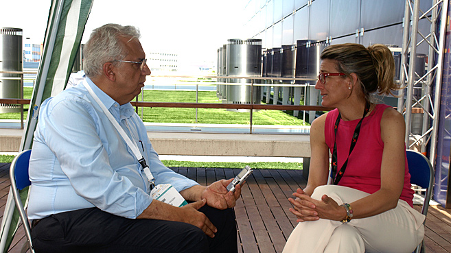 entrevista Luis Corpas y Paloma Casado