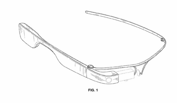 Google Glass nueva patente